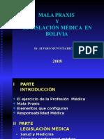 Mala Praxis Medica Derecho Medico Doc