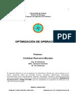 Manual Optimización_semestre I-2014 por Cristhian Ronceros Morales