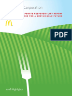 McDonald's - Worldwide corporate responsibility report - Responsible food for a sustainable future (2008).pdf