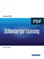 Schlumberger Licensing User Guide