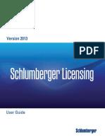 Schlumberger Licensing User Guide
