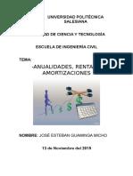 Deber-6 Anualidad y Amortizacion