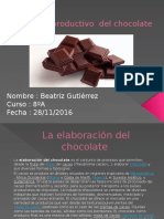 Proceso Productivo Del Chocolate