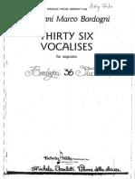 36 VOCALISES
