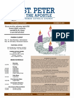 St. Peter the Apostle bulletin 12-18-16