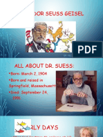 dr suess author study