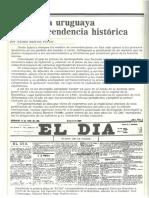 Barrios Pintos La Prensa Uruguaya y Su Trascendencia Historica (BSE 1986)