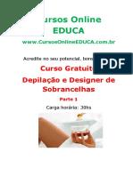 Curso Depilacao e Designer de Sobrancelhas - Parte 1.pdf