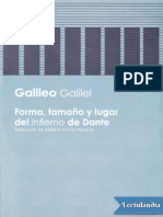 Forma, Tamaño y Lugar Del Infierno de Dante - Galileo Galilei