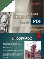 Encofrados-construcciones I Exposicion