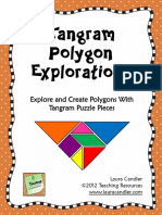 tangram polygon explorations
