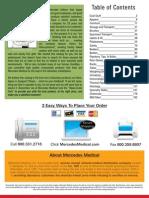 Mercedes Medical Supplies Summer 2010 Catalog