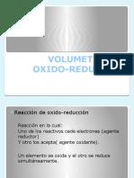 Volumetría de Oxido-reducción