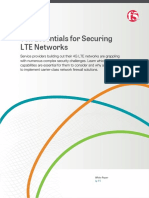 Ten Essentials for Securing Lte Networks