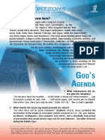 God's Agenda