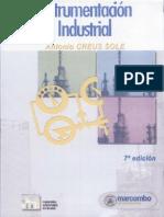 Instrumentacion Industrial - 7ma Edicion. Antonio Creus Sole
