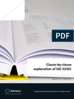 Clause by Clause Explanation of ISO 22301 En