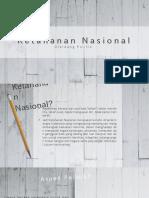 Tugas PKN 1 - Ketahanan Nasional Dibidang Politik