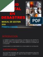 Salud Mental en Desastres