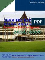 Sumatera Barat Dalam Angka Tahun 2005