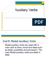 modal auxilaries