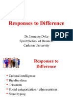 Responses to Difference (1)