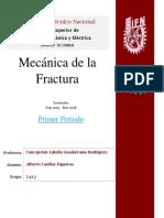 Mecanica de La Fractura Primer Periodo