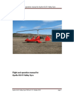 Flight Operation Manual Halley Gyro