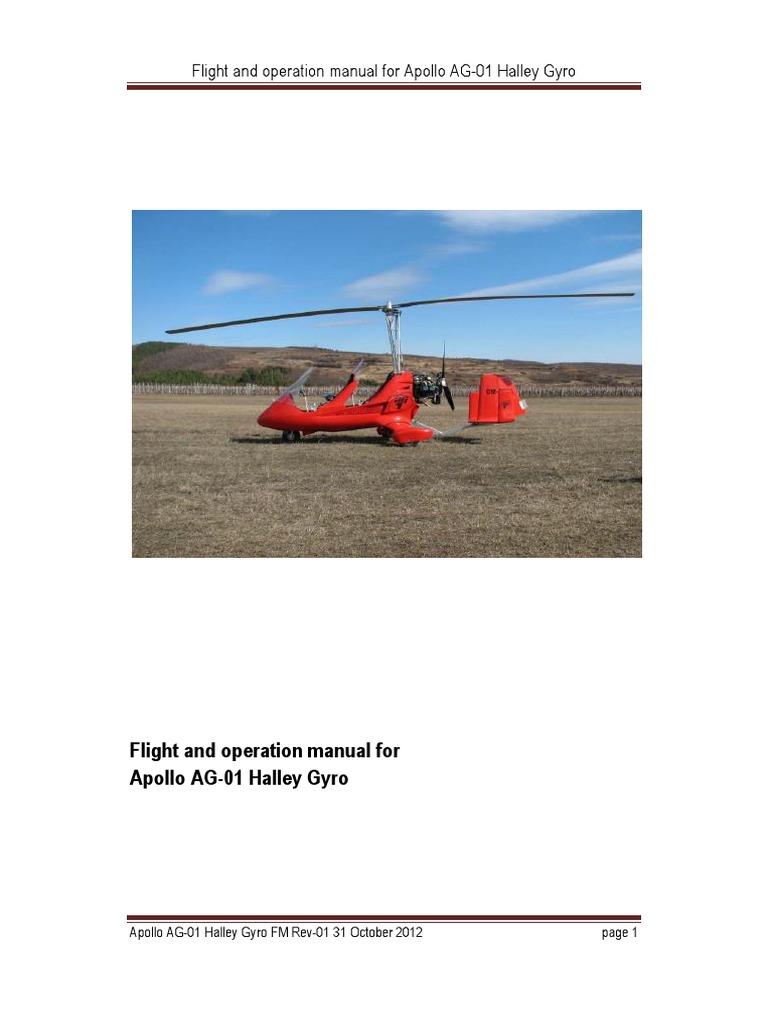 flight operation manual halley gyro helicopter rotor takeoff rh scribd com Write Operations Manual Write Operations Manual