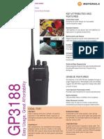 Motorola Gp3188 Users Manual 272275