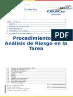 Instructivo de Análisis de Riesgo en La Tarea