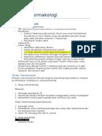 Catatan Farmakologi