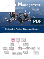 Estimating Project Times and Cost