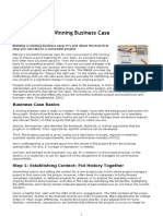 Bussiness Case Five Steps to a Winning Business Case