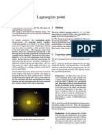 Lagrangian Point