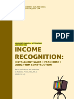 AFAR - Income Recognition