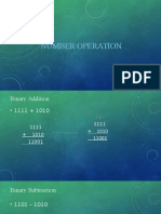 Chapter 1 (Number Operation)