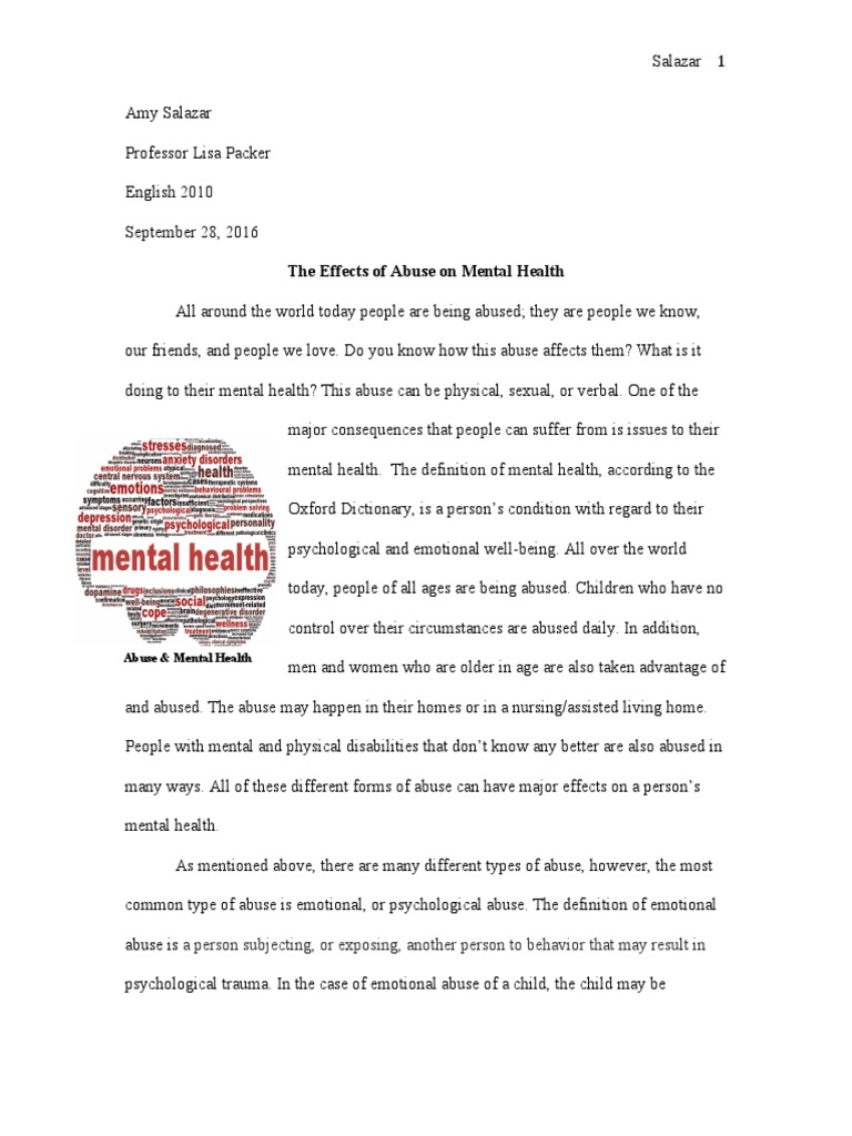 abuse and mental health | child abuse | psychological abuse