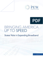 States' Role in Expanding Broadband - Pew Center - June 2010