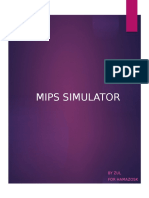 CHAPTER 5 (MIPS SIMULATOR)