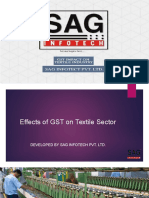 Implications of GST on Textile Sector