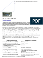 The Rise and Fall of the FSA - Finance Fundamentals_ Financial Services After the Banking Crisis - The Open University