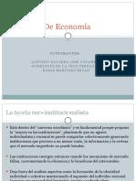 Escuelas de Economia
