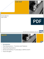 Fleet Maintenance With SAP Update EnP4