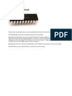PIC Potentiometer Circuit