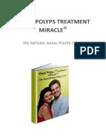 Nasal Polyps Treatment Miracle