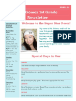 print out newsletter