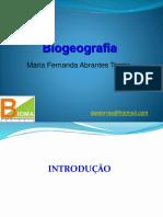 Biogeografia Aula 1 - Introdução
