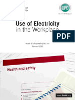 Electricity in Workplace