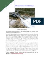 Perú no cuenta con estudios que determinen disponibilidad del agua.doc